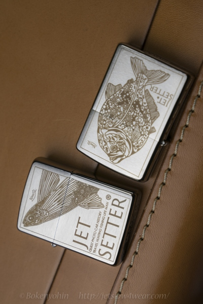 ZIPPO JetSetter version with Nami.